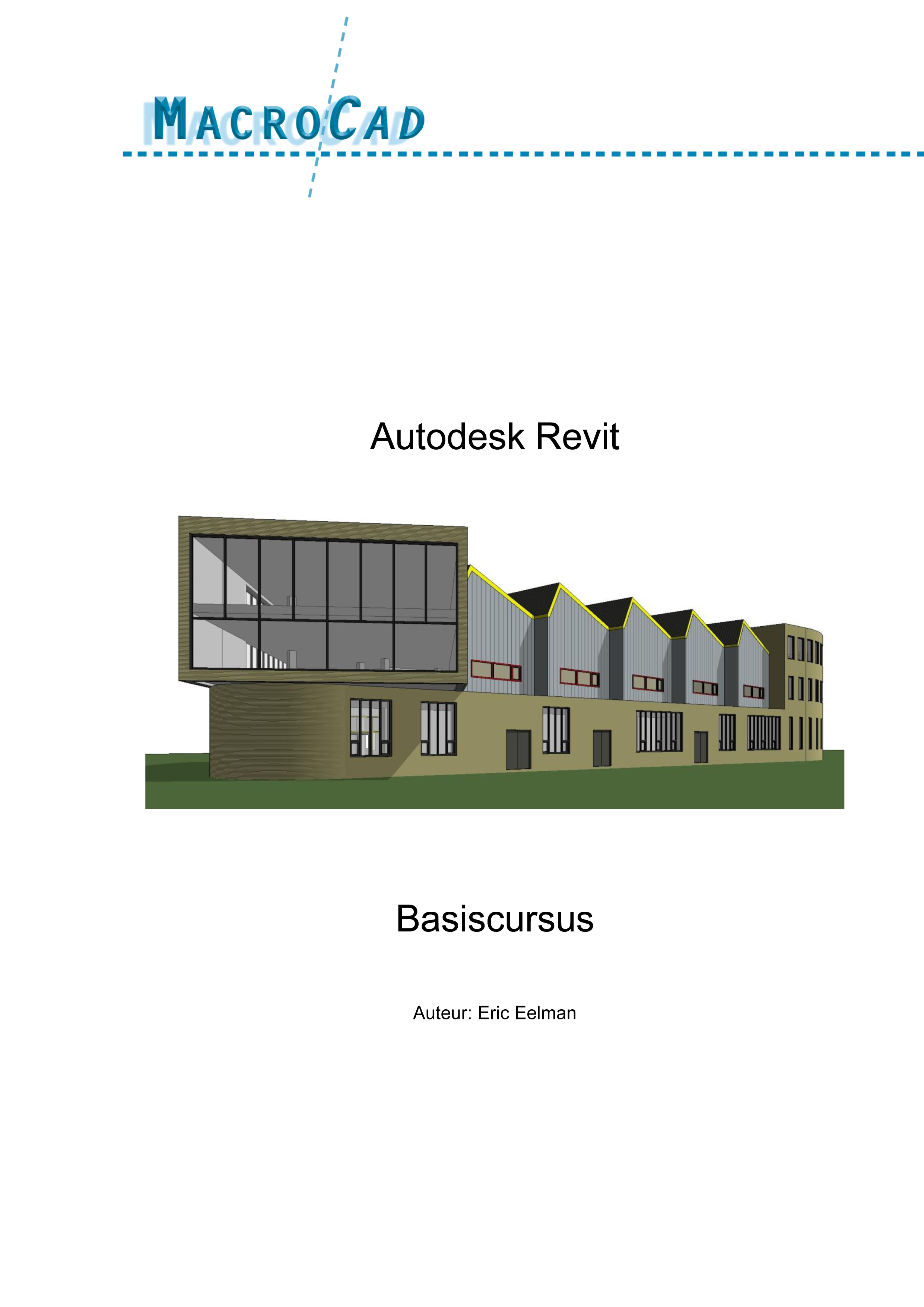 Revit Architecture Basistraining voorblad