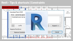Revit Tips & Shortcuts: Constraints