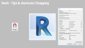 Revit tips & shortcuts: Snapping