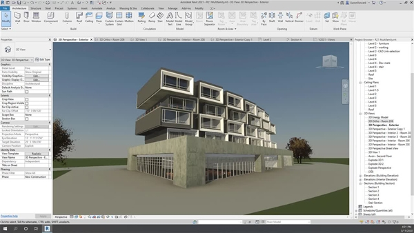Real time realistic views in Revit 2021